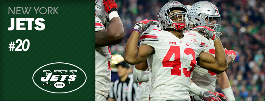 Pick 20 - NY Jets - Darron Lee