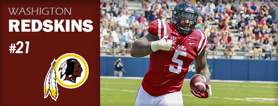 Pick 21 - WAS Redskins - Robert Nkemdiche