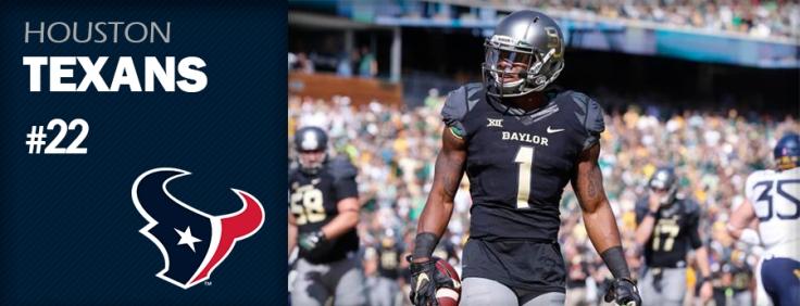 Pick 22 - HOU Texans - Corey Coleman