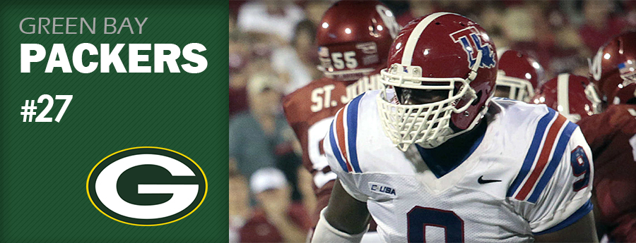 Pick 27 - GB Packers - Vernon Butler