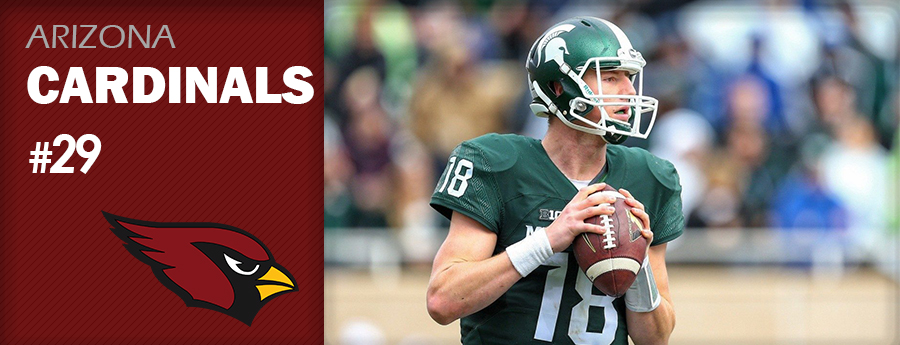 Pick 29 - ARI Cardinals - Connor Cook