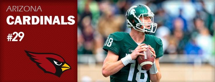 Pick 29 - ARI Cardinals - Connor Cook