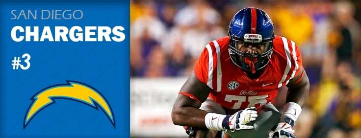 Pick 3 - SD Chargers - Laremy Tunsil