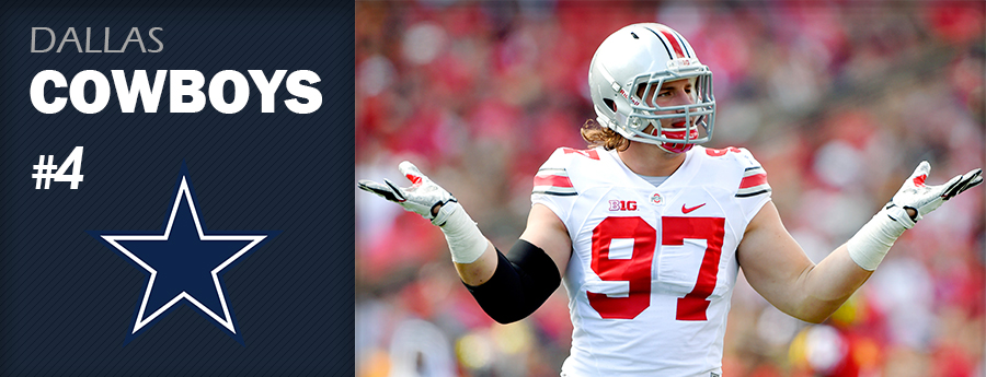 Pick 4 - DAL Cowboys - Joey Bosa