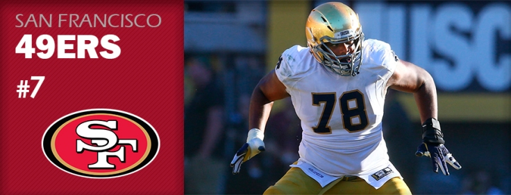 Pick 7 - SF 49ers - Ronnie Stanley